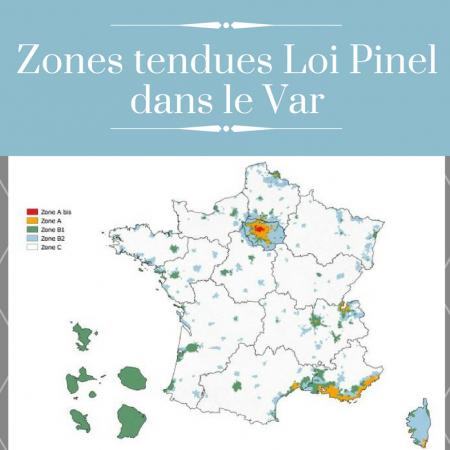 Investissement Loi Pinel : les villes du Var éligibles près de Six-Fours-les-Plages